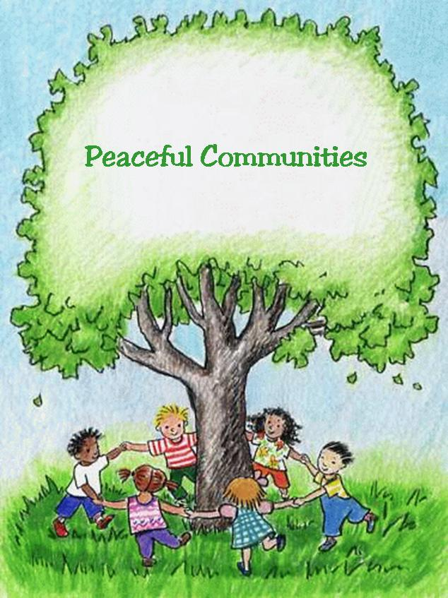 Community clipart peaceful community End Communities Southwestern Peaceful To