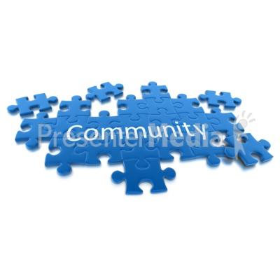 Community clipart puzzle Clipart Community  Puzzle Clip