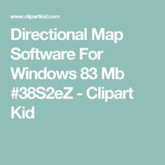 Community clipart street map Windows Clipart Directions 83 Map