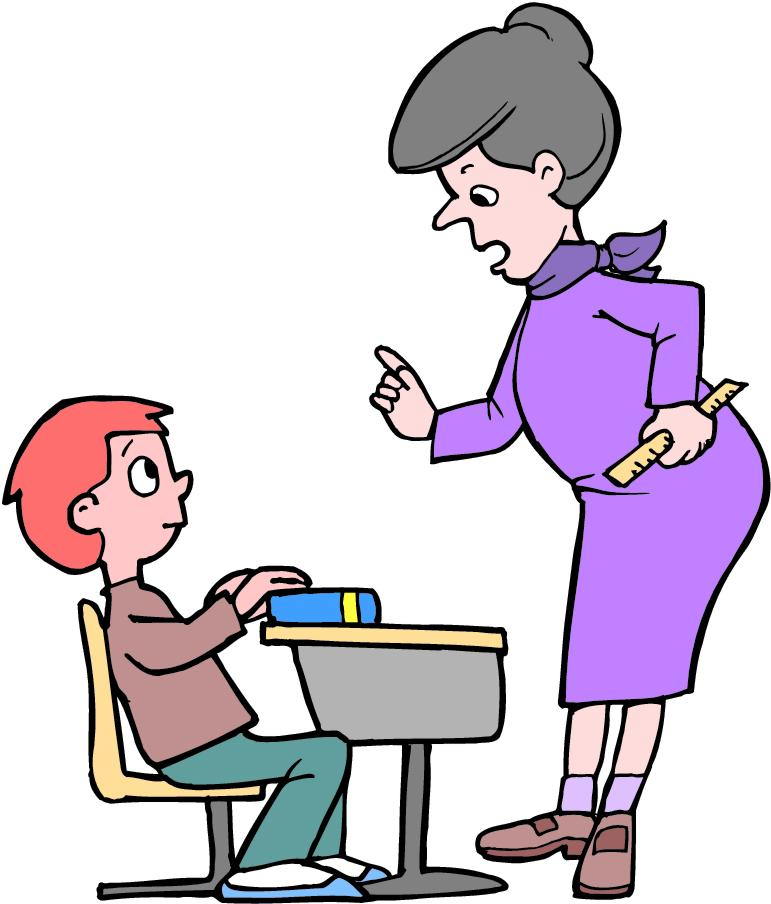 Community clipart teacher and student Teacher and intelligent jokes and
