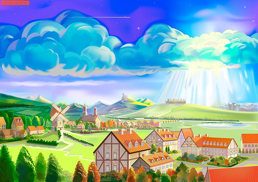 Scenery clipart dream #2