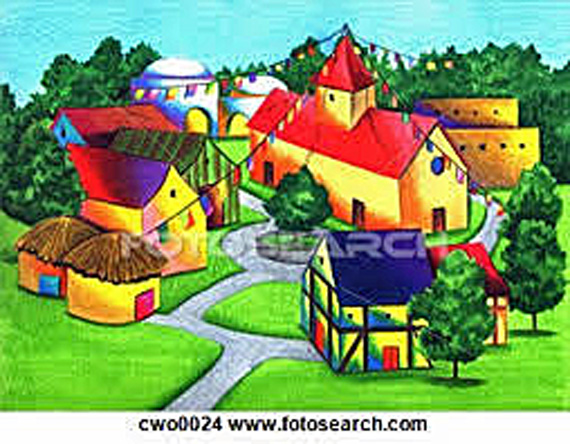 Community clipart village Free Clipart Panda Free Clipart
