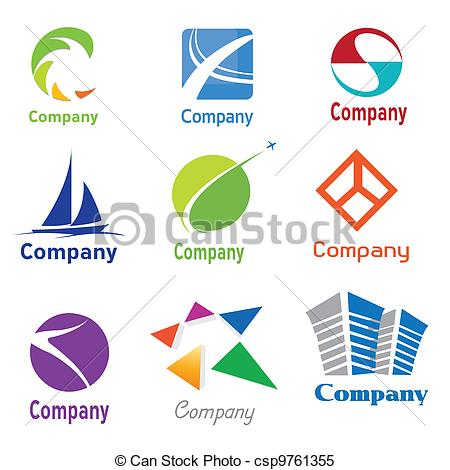 Company Logos clipart Of Design csp9761355 of Logo