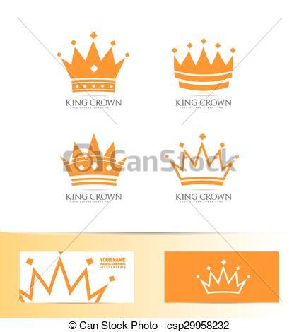 Company Logos clipart crown Icon King  set crown