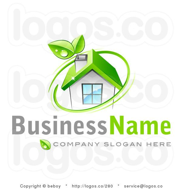 Company Logos clipart eco home Images over 3D best Logo