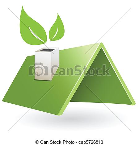 Roof clipart green roof #1