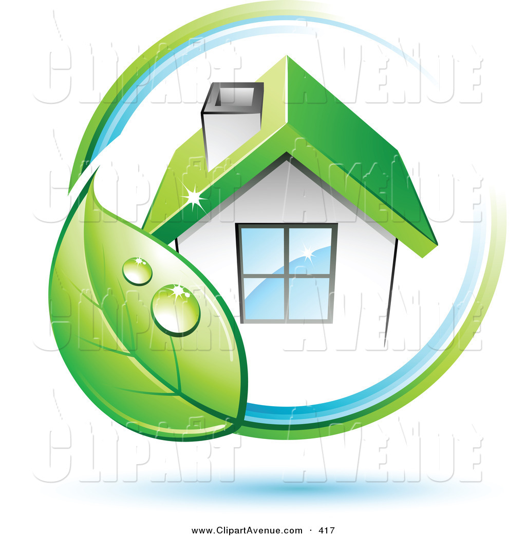 Company Logos clipart home Circling Green of Clipart of