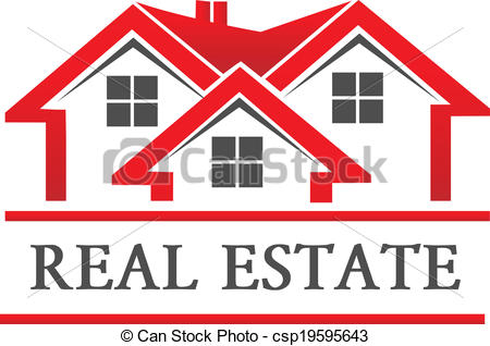 Company Logos clipart home Real Vector house house logo