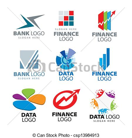 Company Logos clipart logo art Banks for Vector Clip of