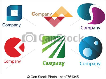 Company Logos clipart logo art Vector Samples Pack is