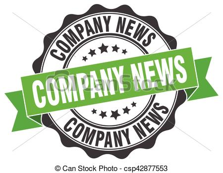 Company Logos clipart newspaper Company news seal of sign