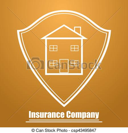 Company Logos clipart shield Insurance Vector form form of