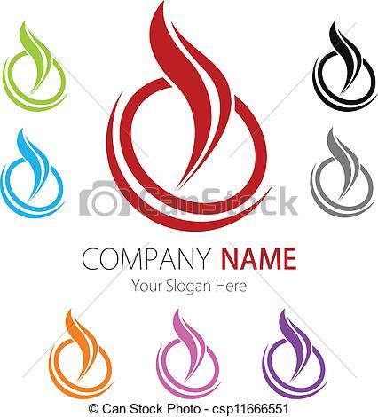 Company Logos clipart symbol Image Design of csp11666551 Company