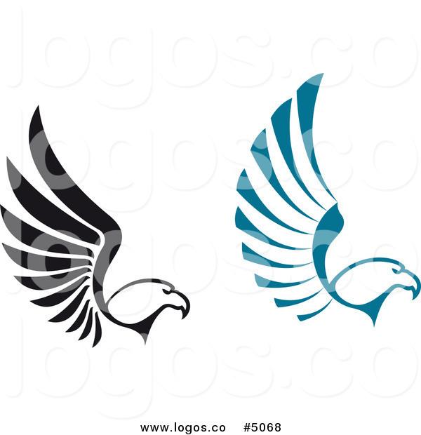 Black Eagle clipart blue Eagle Logos Black by of