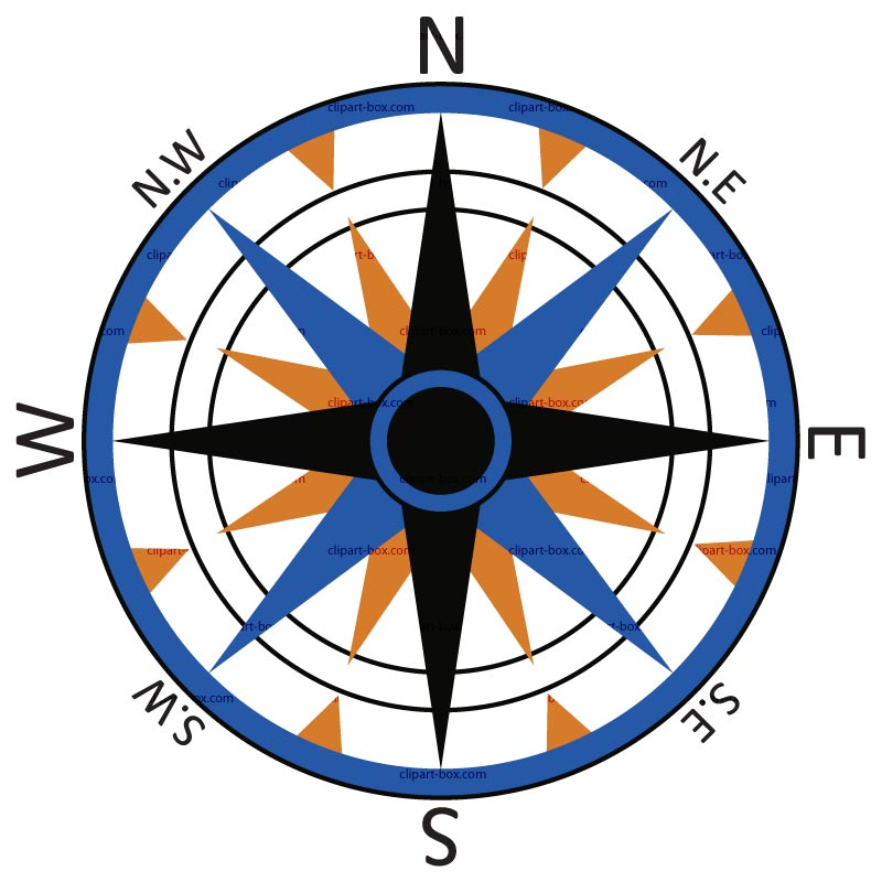 East clipart compass map Clipart Compass 2 image clipart