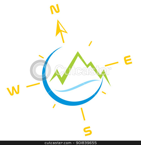 Compass clipart adventure Symbol vector symbol Adventure stock