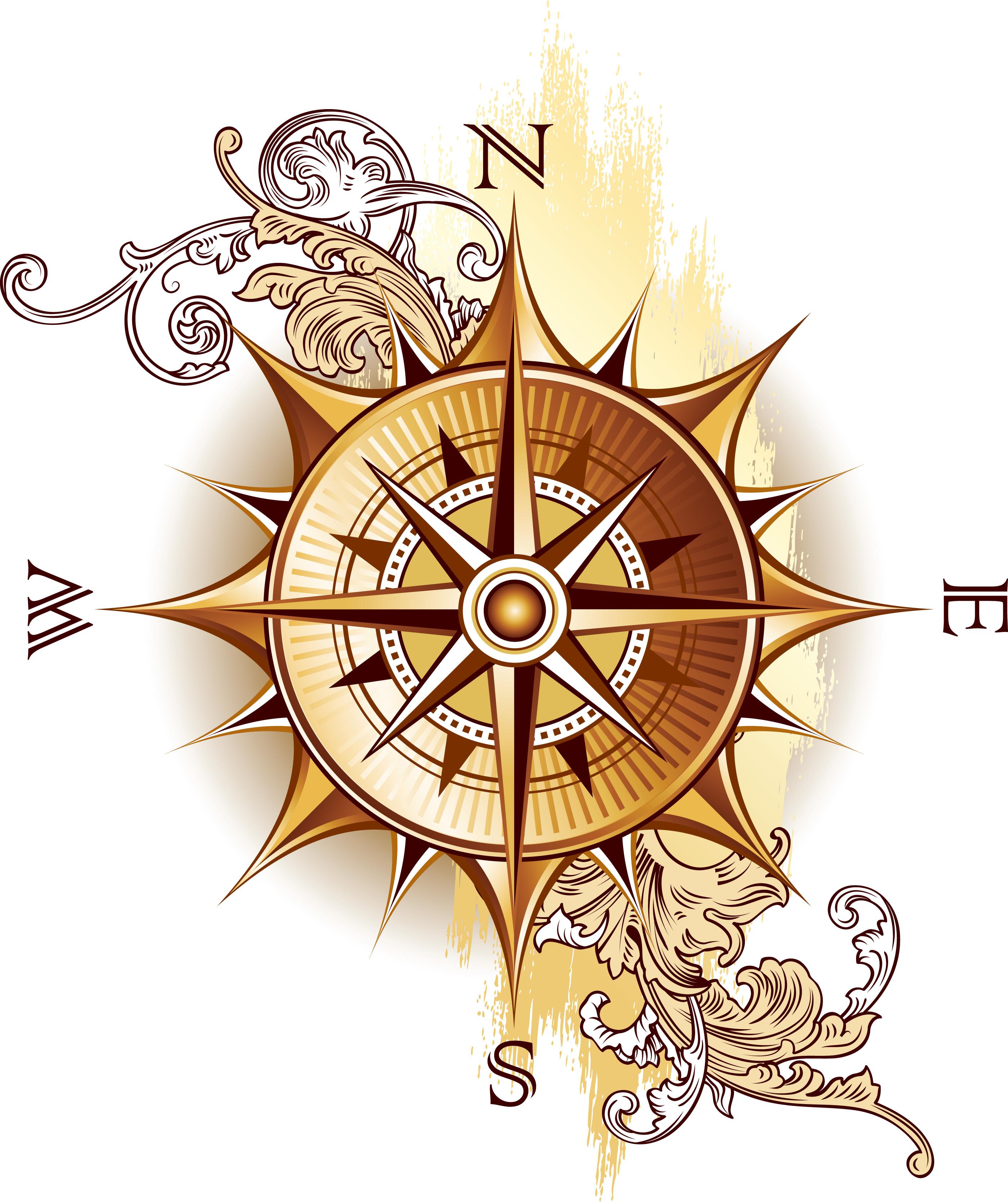 Compass clipart antique compass Compass Art Compass photo#6 Pirate