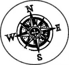 Compass clipart artsy I and underneath a have