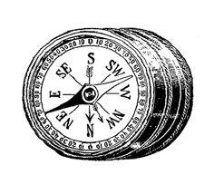 Compass clipart artsy Knife Download cutlery with art: