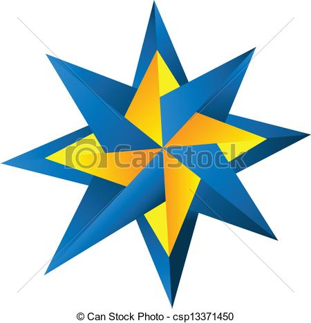 Compass clipart blue In Vector Clipart blue of