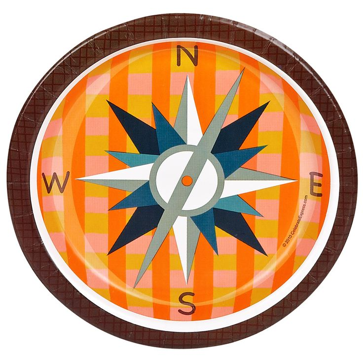 Compass clipart camp Go images best Plates Camping