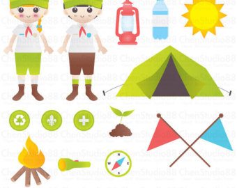 Compass clipart camp Clipart Scouts Kids PNG Instant