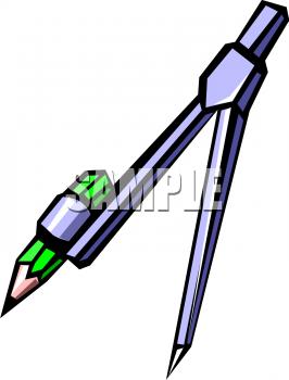 Compass clipart cartoon  Compass Math Cartoon Math