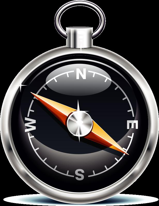 Compass clipart cartoon Black Clipart Compass Cartoon Compass