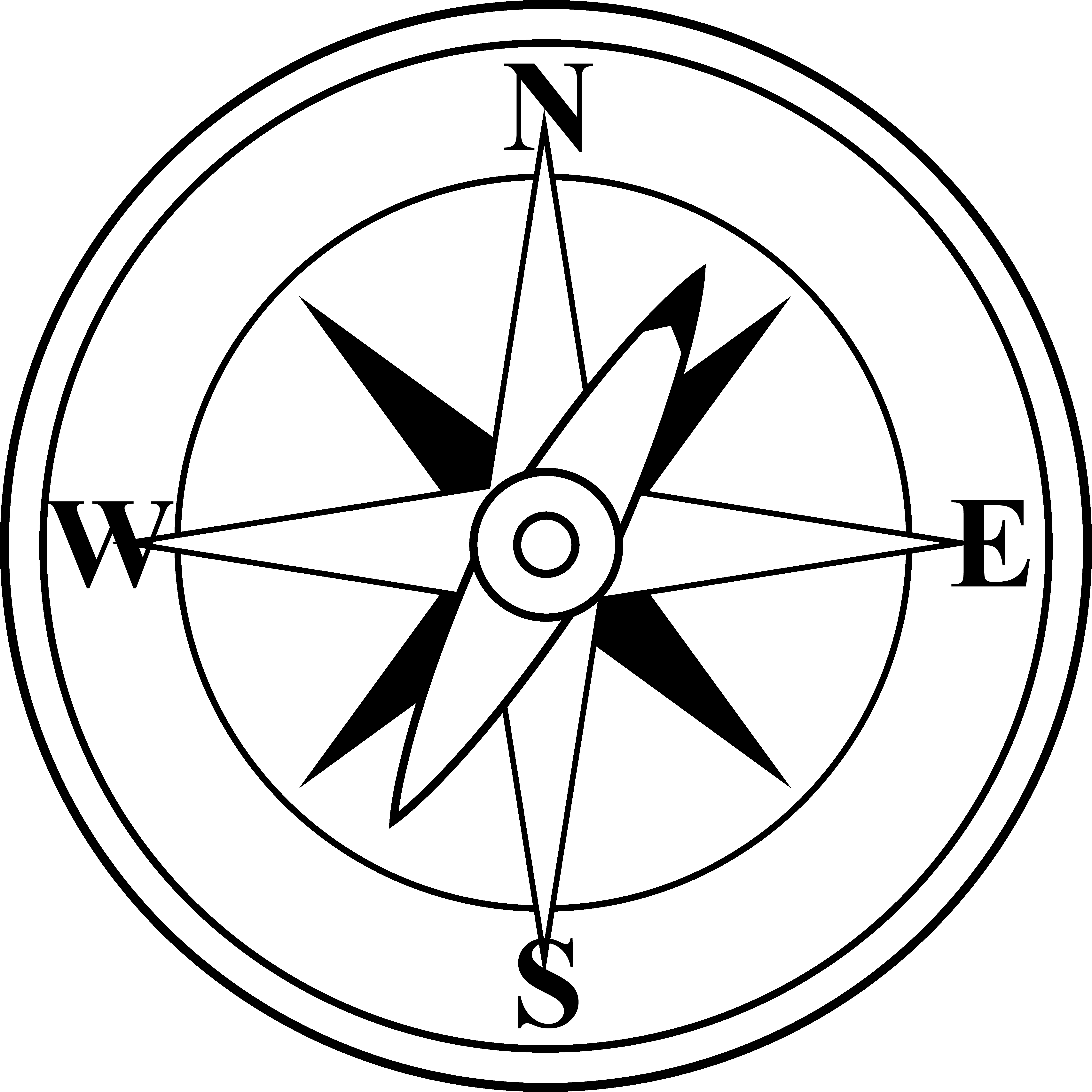 Compass clipart easy Free Clipart Compass Clipart Art
