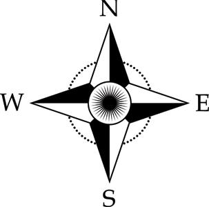Compass clipart easy Free Clip  Compass Clip