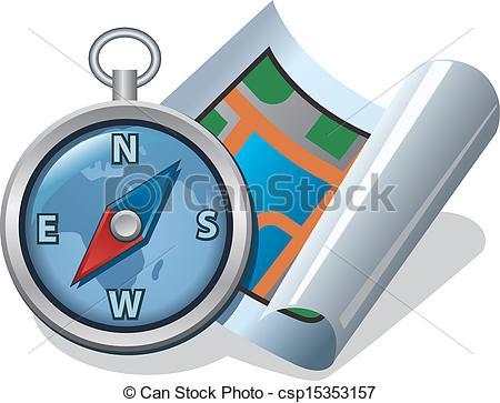 Compass clipart map Art clip compass art clip