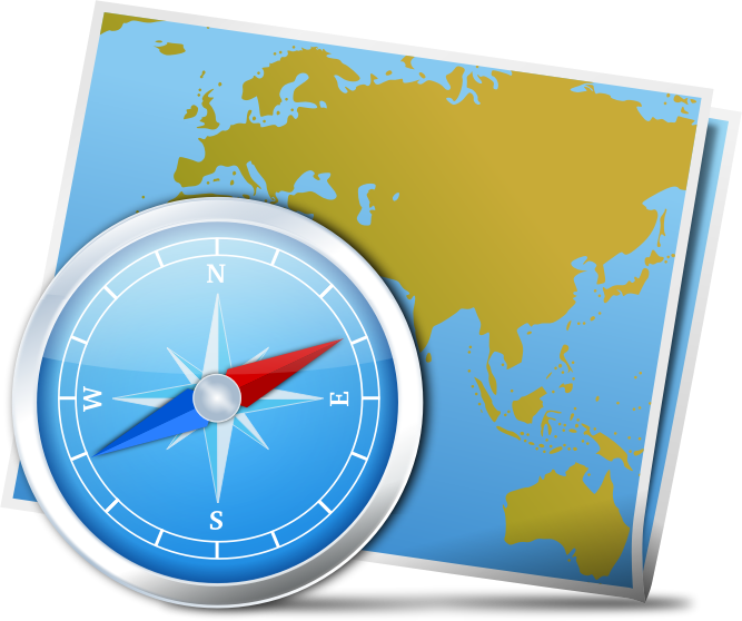 Compass clipart map Compass IMAGE Map (PNG) And