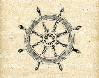 Compass clipart marine Sea Compass Vintage Antique Instant