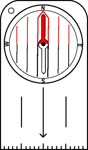 Compass clipart orienteering Art Clip Download Compass image