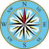 Compass clipart orienteering Royalty Business Illustrations Compass direction;