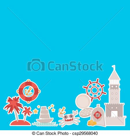 Compass clipart pirate gold Your of card compass design