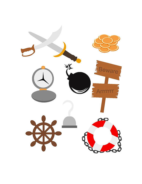 Compass clipart pirate gold Wheel files from svg svg
