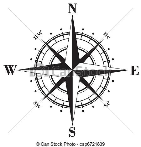 Compass clipart sketch Compass 3d Clipart