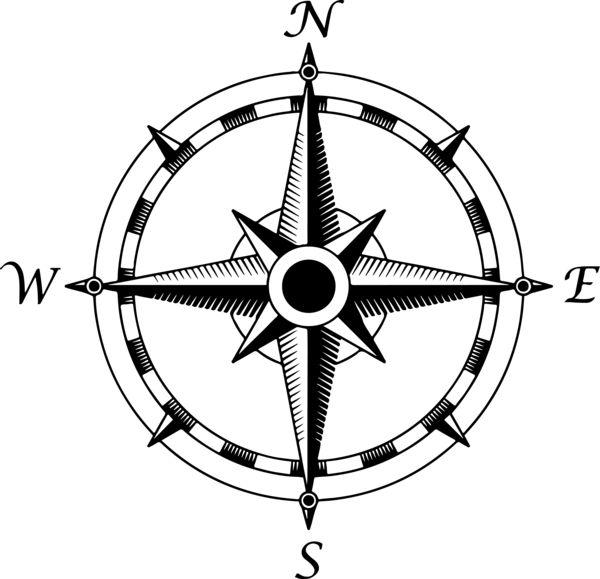 Compass clipart sketch Google Pinterest stencil Search