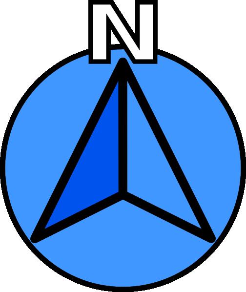 Compass clipart symbol Clker Art Clip as: Compass