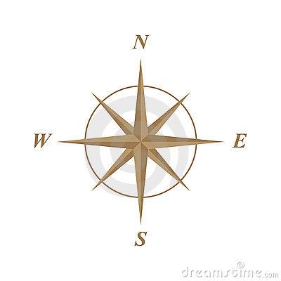 Compass clipart treasure map (83+) Clip rose Compass Map