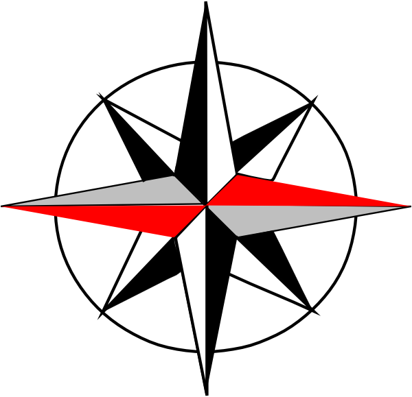 Compass clipart west Clip as:  at Download