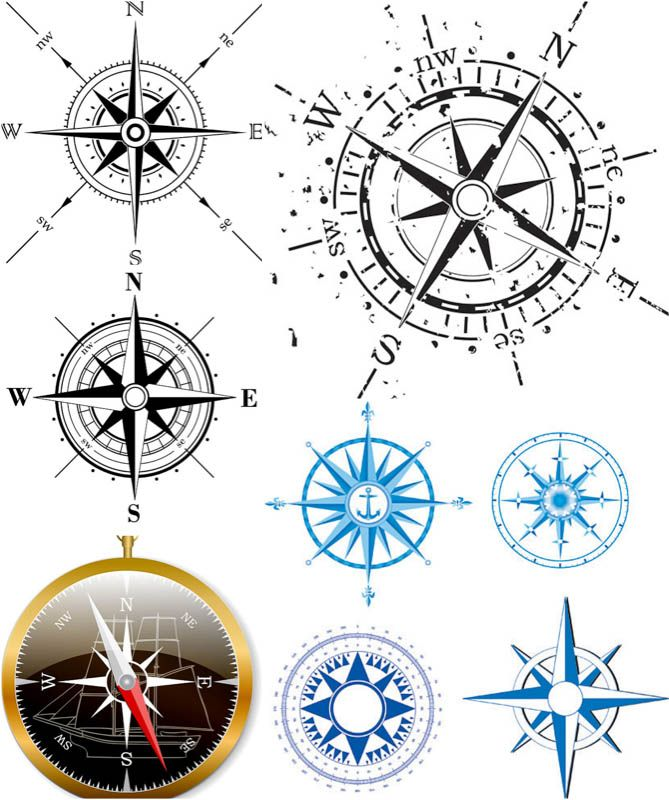 Compass clipart wind rose You rose ideas 25+ Compass