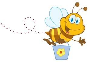 Bee clipart honey bee Honey  Honey Bee Honey