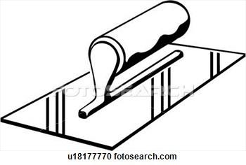 Concrete clipart Concrete Tools Clipart