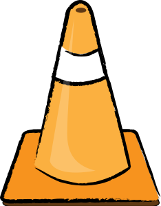 Cone clipart Clipart Panda Construction Free Images