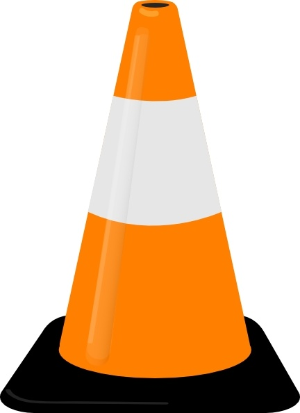 Cone clipart Traffic Cone drawing Cone clip