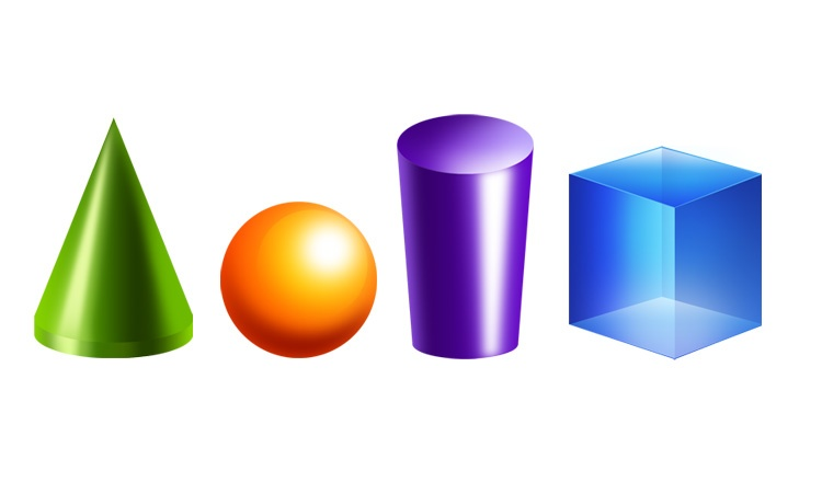 Other clipart 3d shapes D on Download 3D PSD