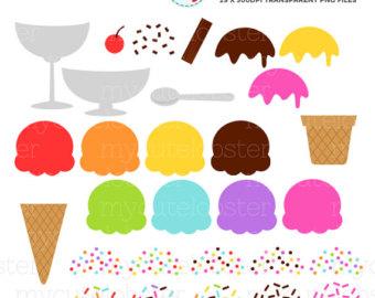 Cone clipart ice drop Cream Kawaii Cream Clipart ice