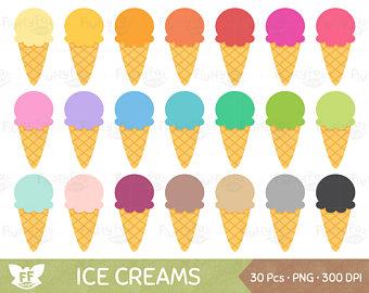 Cone clipart ice drop Art cream OFF Snack Clipart